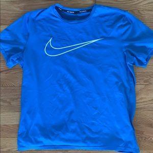 Men's Nike dri-fit running shirt